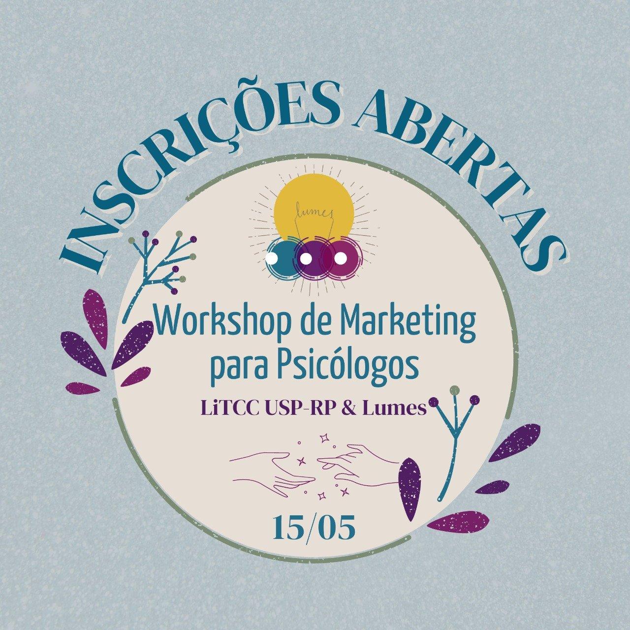 Workshop de Marketing para psicólogos